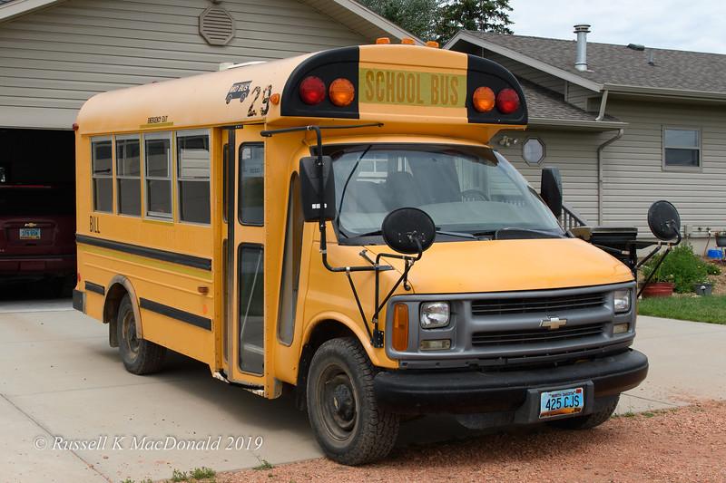 'Bill' the bus