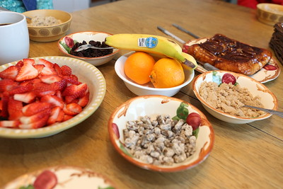 Oatmeal with all the toppings