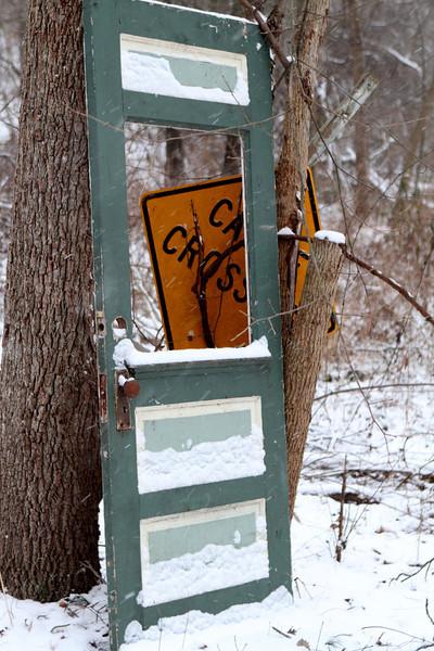 The door to Cattle Crossing.