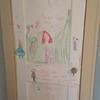 Lila's art at the Sheridan house