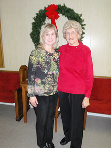 Mom and Elizabeth Horton