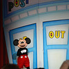 Mickey Mouse made an appearance first!