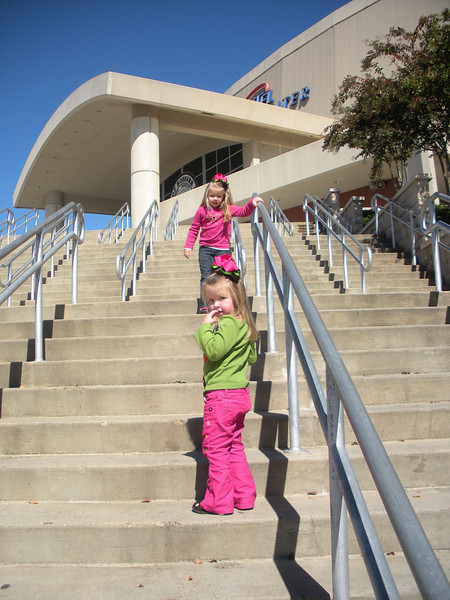We surprised Camden and Claire with a trip to see Playhouse Disney Live. Headed up the steps to Centurytel Center with no idea what's in store for them!