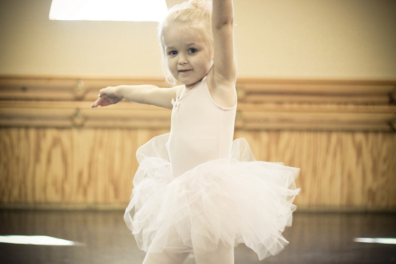 Our little ballerina!!!