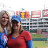 Kristen and Brooke at the World Series!