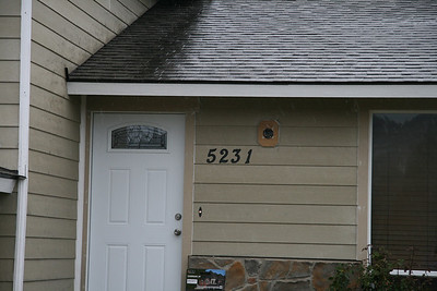 New house numbers AND a working doorbell!