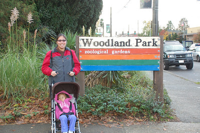 November 11, 2009 - Day 5 - Seattle Woodland Park Zoo, our last day in Seattle.