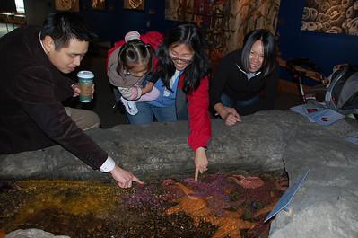 November 9, 2009 - Day 3 - Seattle Aquarium
