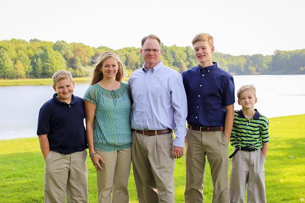 O'Brien Family 2017
