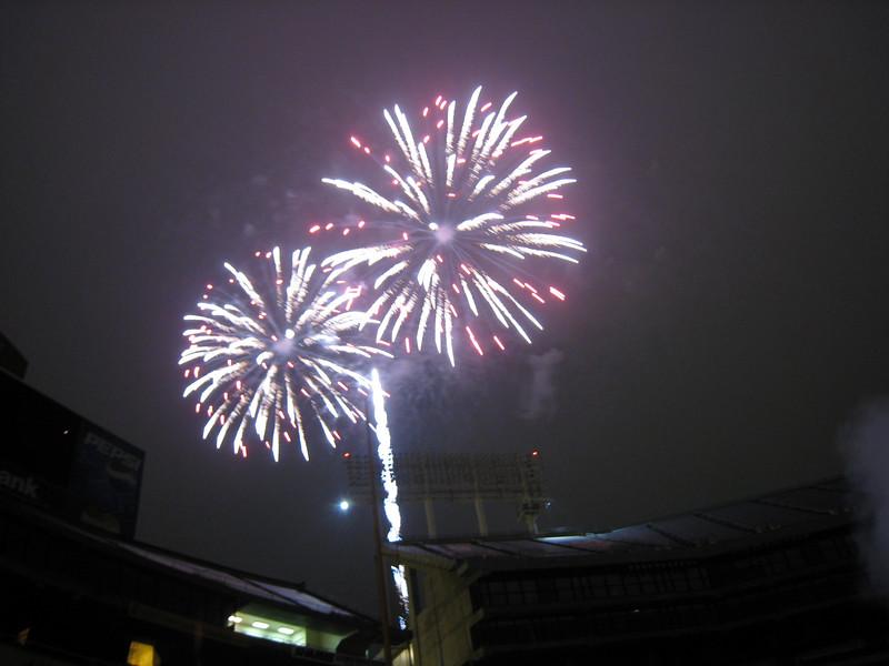 Let the fireworks begin.