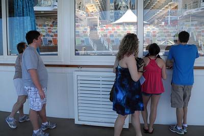 Aquatheatre in stern