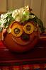 Veggie Pumpkin-faces at CSA Harvest Fest