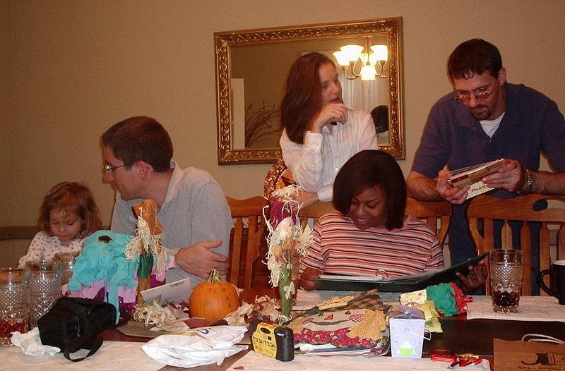 Kyla, Stuart, Cheryl, Ricky, Ben