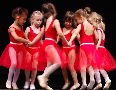 Little ballerinas.