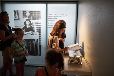 Impressive visit to the Anne Frank house.
