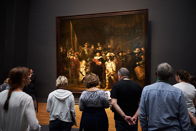 First the Rijksmuseum with the old Dutch masters.