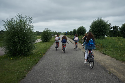 Thrid day, cycling to Zandvoort.