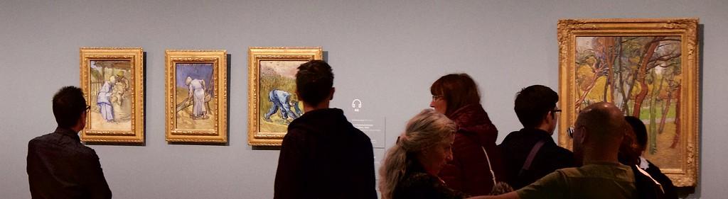 The van Gogh museum.