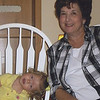 Nana and the birthday girl.