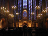 Sainte Chappelle lit for a concert