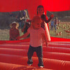 I loved jumping in the pumpkin bounce house!