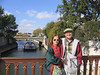 Mom and Dad on the Seine next to Notre Dame!