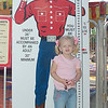 Look Big Tex says I am tall enough to ride the kiddy rides at The Fair!