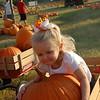 Hugging my giant pumpkin