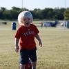 Brady ready to play some soccer!