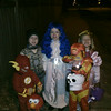 trick or treating with the Ness family