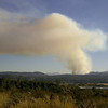 Fire around Twin Lakes!  Just a few miles south of our home. (we were not threatened)