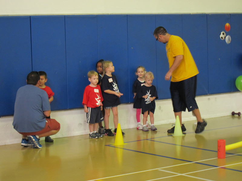 """Matthew's """"Olympic"""" day at the rec center, 10/6/2012"""