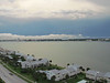Storm seen from our condo looking toward Clearwater, FL. 10/4/2012