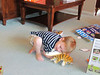 Tiger and baby from Grandpa and Grandma, Matthew's 4th family birthday party, 10/7/2012