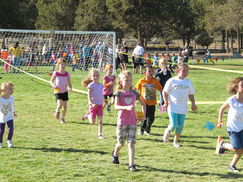 Running in the Tumalo Jog-a-thon!