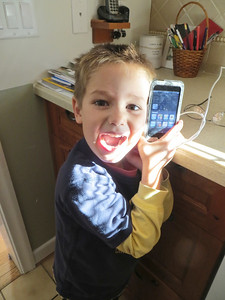 Miller found Carson's missing iPod!