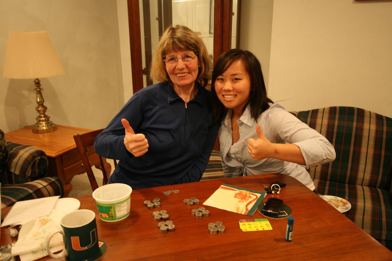 Rena and Lauren in Waterloo