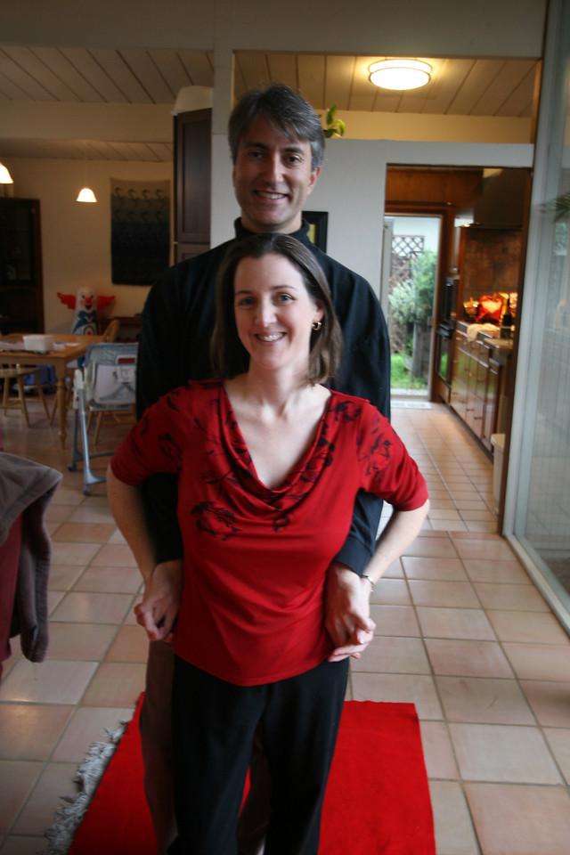 Oscar Sunday at Marla and Simon's