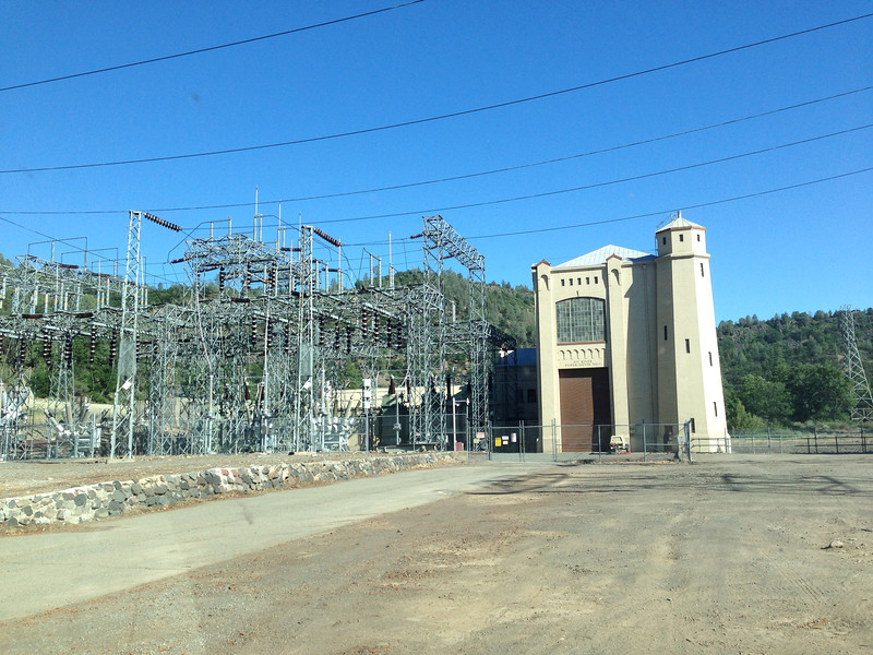 PG&E's Pit River #1 power plant.  Probably built in the 30s.