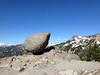 A large rock.