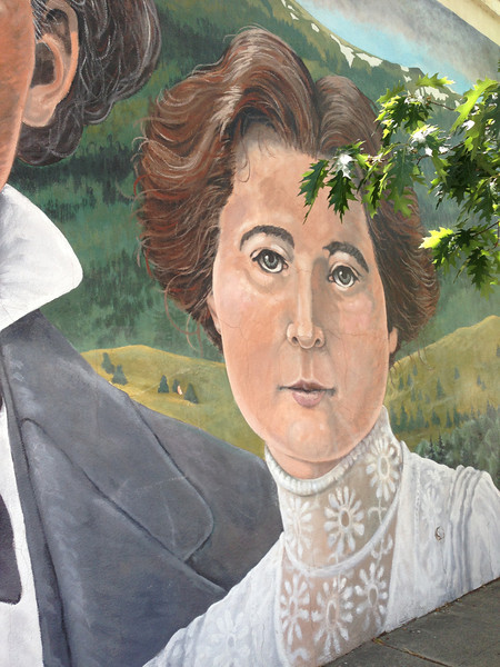 Mrs. Roop, co-founder of Susanville.  They first called it Roop, then thought better of it and named the town after their daughter.  Can you guess what her name was?