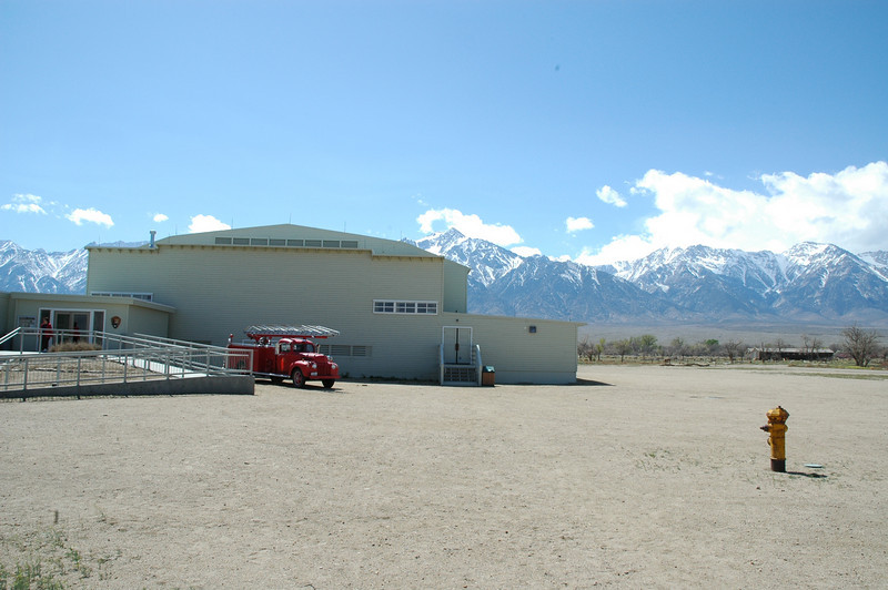 Entrance to Manzanar Museum.