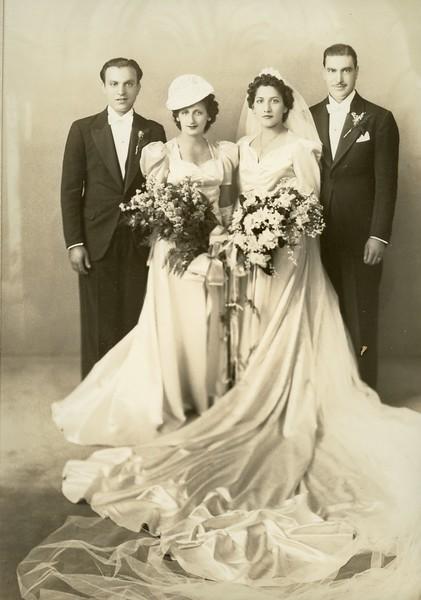 Marie Mazza, Joseph Genova, Josephine Vitale, Charles Salvatore Segreto<br /> Sept 3rd 1939