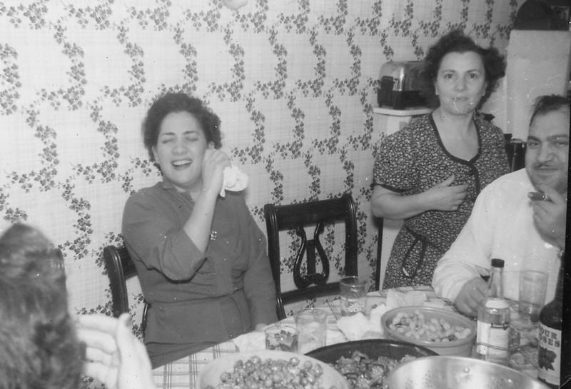 Marie Genova, Joe Genova, Millie Mazza <br /> 1953