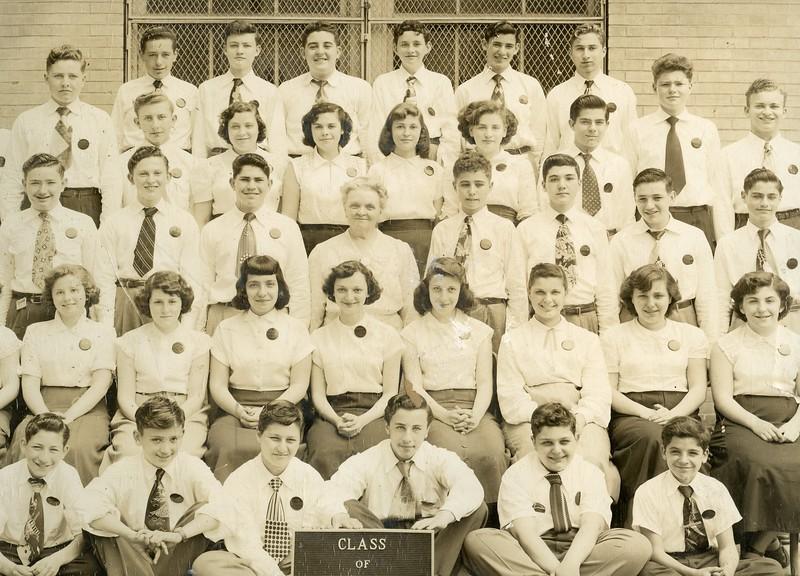 Allen Gross, Bottom right<br /> Herman Ritter School <br /> Class of 1951