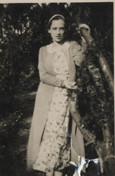 Florence Veronica Lyons - Pennyfford, Wales - August, 1936