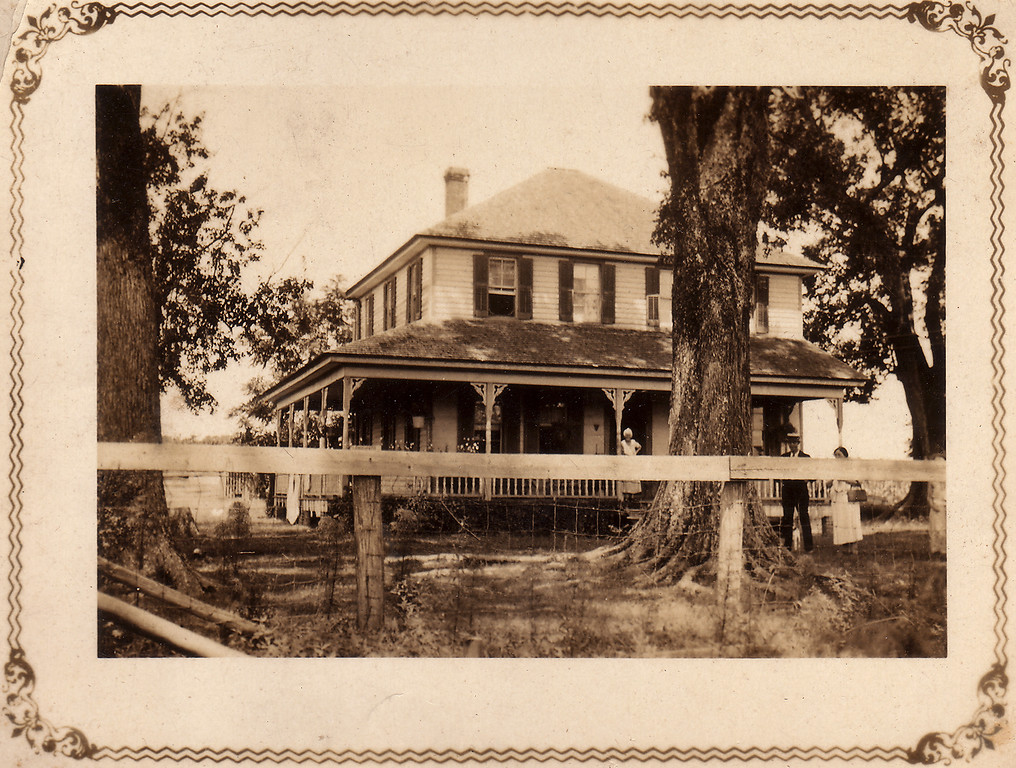 The Downing house in Roper, Washington County, North Carolina. It was named Maploke.