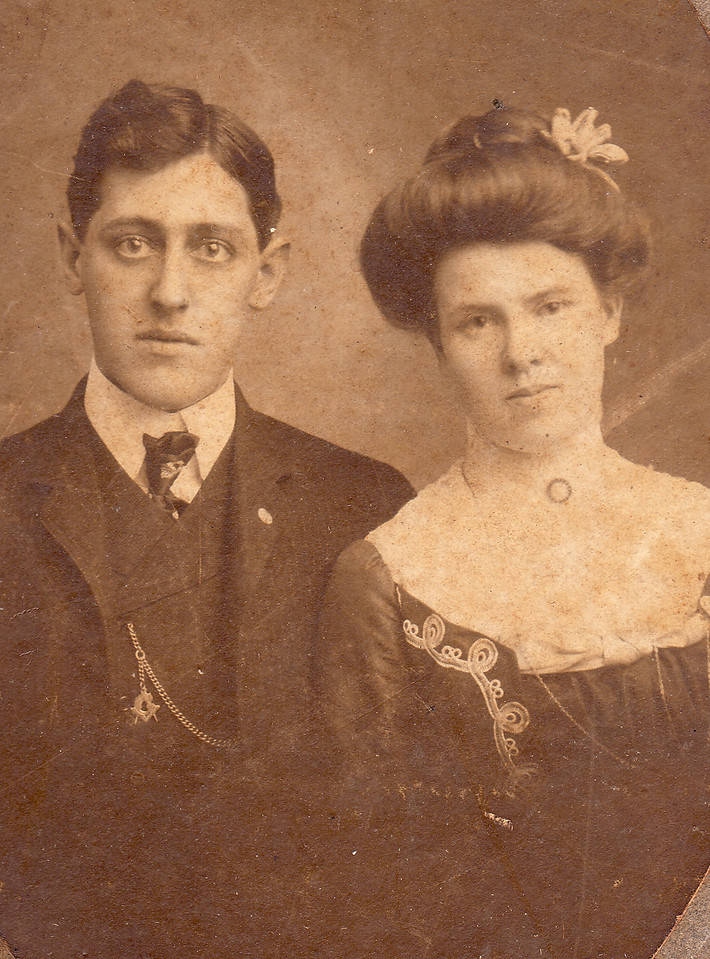 R.B. Downing and Isabele (Belle), who would be the brother of Mamie and Hennie (and grandfather of Patti)