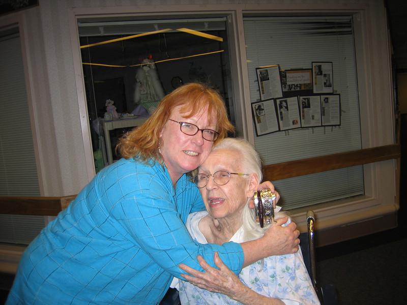VA 05 Sharon hugs goodbye