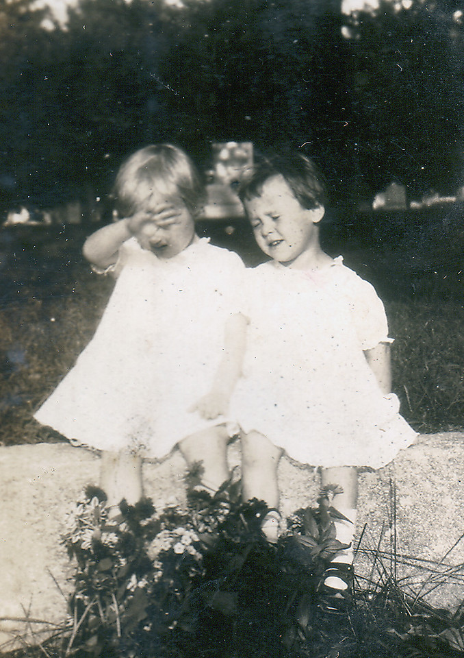 Adelaide and Eleanor, ca 1924